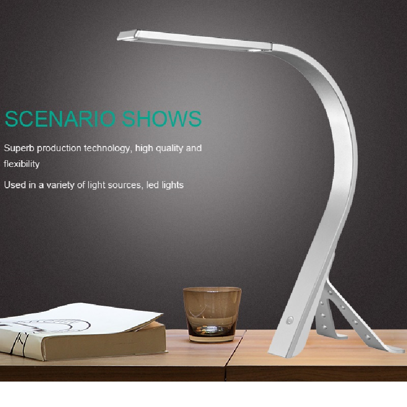 521u  usb led desk lamp bedside desk bedroom student learning desk lamp LOGO custom